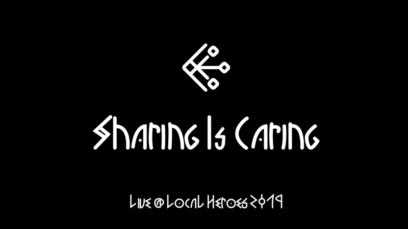 Sharing Is Caring Logo bgb